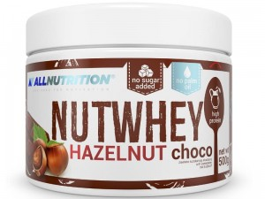 AllNutrition Nutwhey Hazelnut Chocolate 500g
