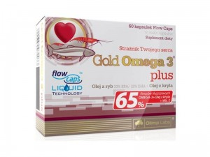 Olimp Gold Omega 3 Plus 60kaps