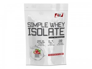 4U Simple Whey Isolate 600g