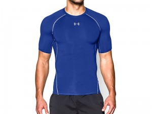 Koszulka Under Armour Rashguard Heat Gear SS Comp T 1257468-400
