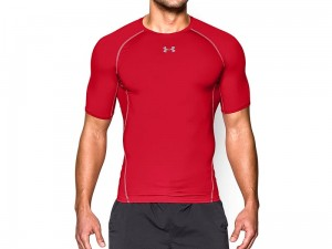 Koszulka Under Armour Rashguard HeatGear SS Comp 1257468-600