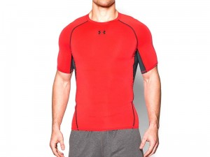 Koszulka Under Armour Rashguard Heat Gear Comp SS 1257468-984