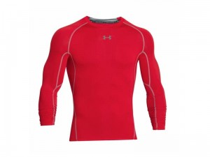 Koszulka Under Armour Rashguard HeatGear LS Comp T 1257471-600