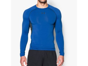 Koszulka Under Armour Rashguard Heat Gear LS Comp T 1257471-907