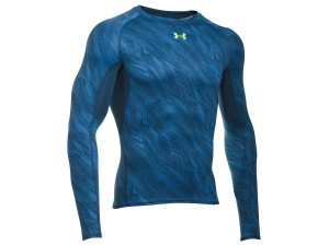 Koszulka Under Armour Rashguard Heat Gear Printed LS Comp T 1258896-438