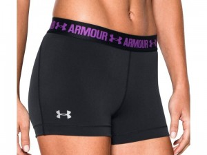 Spodenki damskie Under Armour HeatGear Shorty 1271777-009