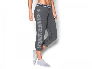 Spodnie Damskie Under Armour Favorite Fleece Capri 1283256-090