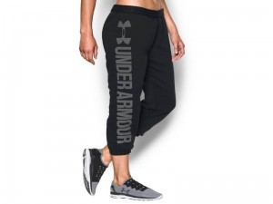 Spodnie Damskie Under Armour Favorite Fleece Capri 1283256-001