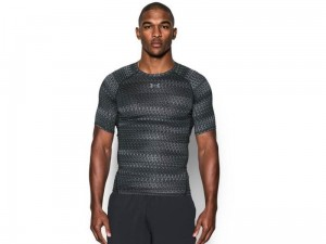 Koszulka Under Armour Rashguard HeatGear Comp Printed 1257477-007