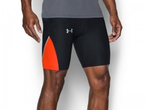 Spodenki Under Armour No Breaks Run Half Tight 1290264-002
