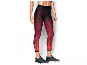Legginsy damskie Under Armour HeatGear Graphic Ankle Crop 1307494-001