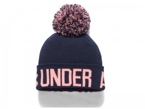 Czapka Under Armour Graphic Pom Beanie 1299902-410