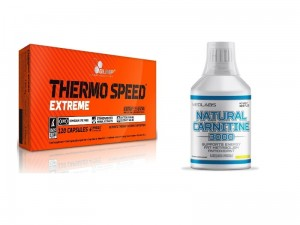 Natural Carnitine 3000 500ml + Thermo Speed Extreme 120kaps