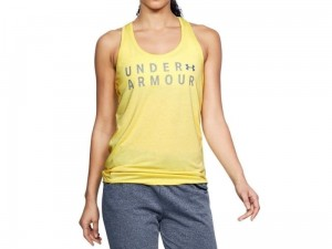 Koszulka Under Armour Damska Tborne Train Graphic Twist Tank 1309893-159