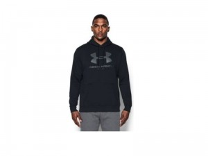 Bluza Męska Under Armour Rival Fleece Fitted Graphic Hoodie 1302294-001