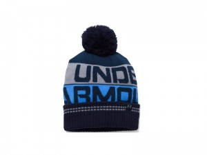 Czapka Under Armour Retro Pom Beanie 2.0 1300078-410