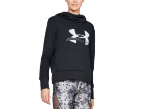 Bluza Damska Under Armour Rival Fleece Logo Hoodie 1321185-001