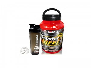 Amix Anabolic Monster BEEF Protein 90% 1000g