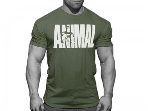 Universal Koszulka Animal T-shirt Khaki Military Edition