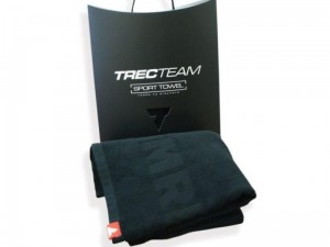 Trec Team Towel 003 Ręcznik IMREADY BLACK 150x75