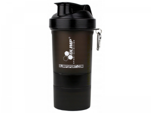 Olimp Shaker Smart Shake BLACK LABEL 400 ml + 2 pojemniki
