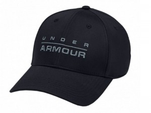 Czapka Under Armour 1342243-001 Wordmark Stretch Fit Cap