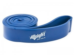 Allright Taśma Power Band 4,4 cm blue