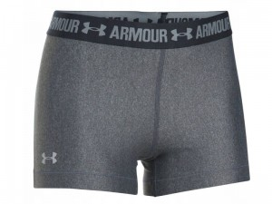 Spodenki damskie Under Armour HeatGear Shorty 1297899-090