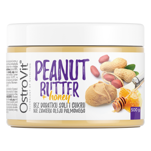 Ostrovit 100% Peanut Butter + Honey 500g