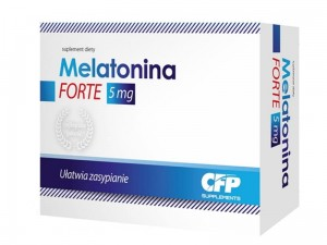 CFP Supplements Melatonina Forte 5mg 30kaps