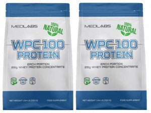 Medlabs WPC 100 Natural 2x 810g